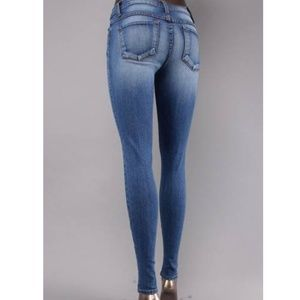 FLYING MONKEY HI WAIST SKINNY JEAN